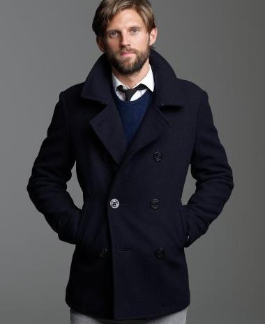 Authentic Peacoat with Thinsulate from J. Crew | Bowties and Boatshoes