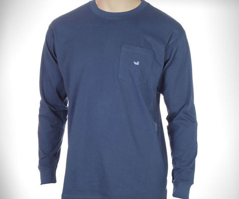Ls Southernclassics Embroidered Pocket Tee By Southern Marsh